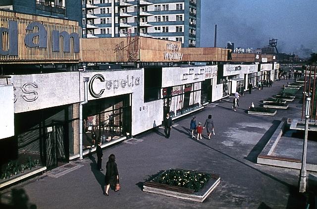 Pawilony na ulicy Chorzowskiej, z prywatnych zbiorów architekta
