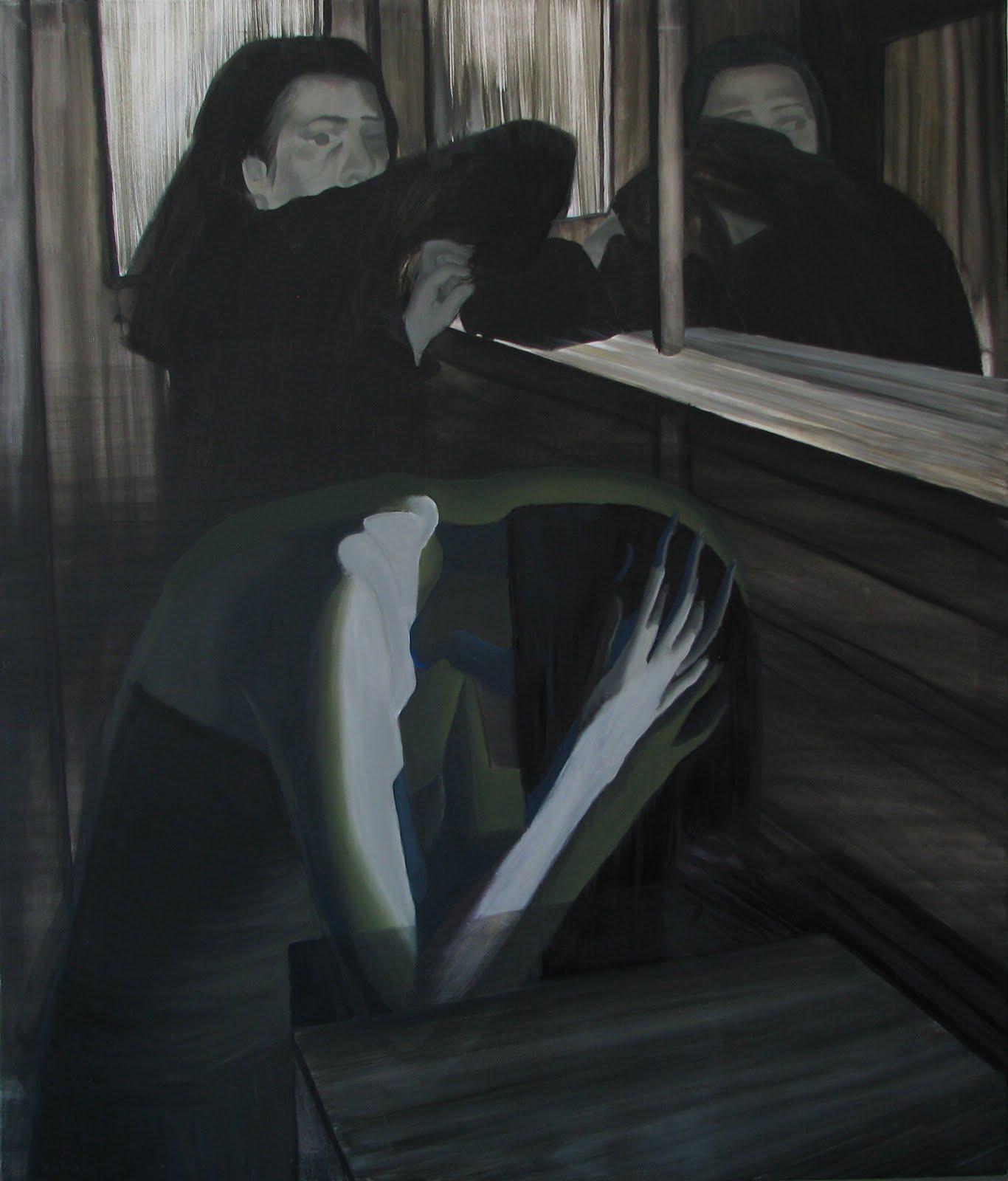 bez tytułu, 2010, olej na płótnie, 130x160 cm