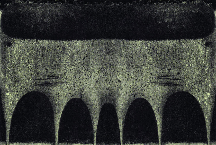 Yagi Nagisa Twin litografia 2011