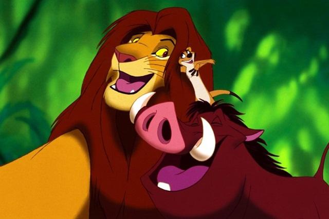 Król lew materiały prasowe