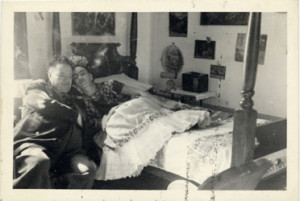 Frida Kahlo i Diego Rivera (ok 1945)