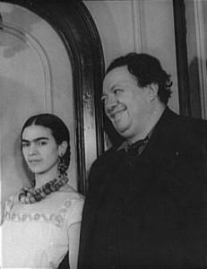 Frida Kahlo i DiegoRivera (1932)