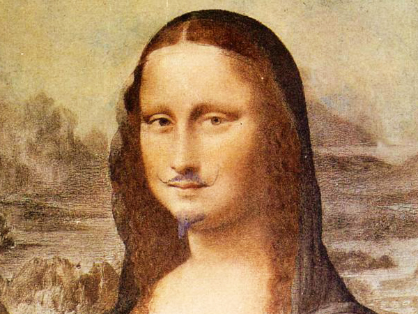 Marcel Duchamp - L.H.O.O.Q.