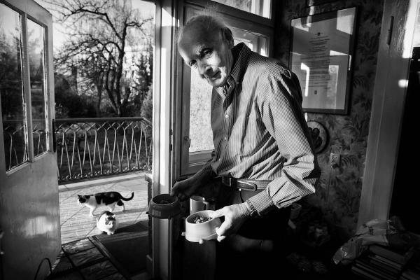 """Na miejscu 2. w edycji 2014 uplasował się z fotoreportażem """"Wojciech Kilar"""", Autor: BARTEKBARCZYK"""