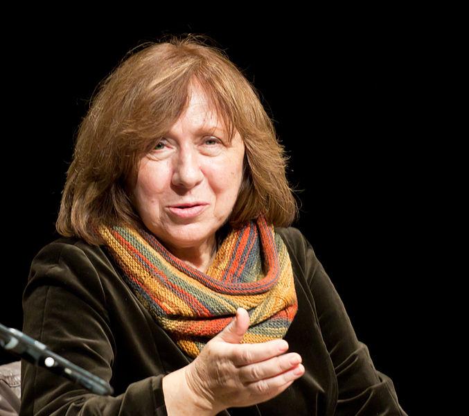 Swietłana Aleksijewicz, fot. Elke Wetzig, źródło: Wikipedia.org