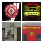 1. Oznaczenie strefy zarezerwowanej dla kobiet, metro w Delhi 2. Jangpura Metro Station - Metro Delhi 3. Poczekalnia tylko dla kobiet, Mudgaon, Goa 4. Rajdhani Express - pociąg z Delhi do Mudgaonu w Goa