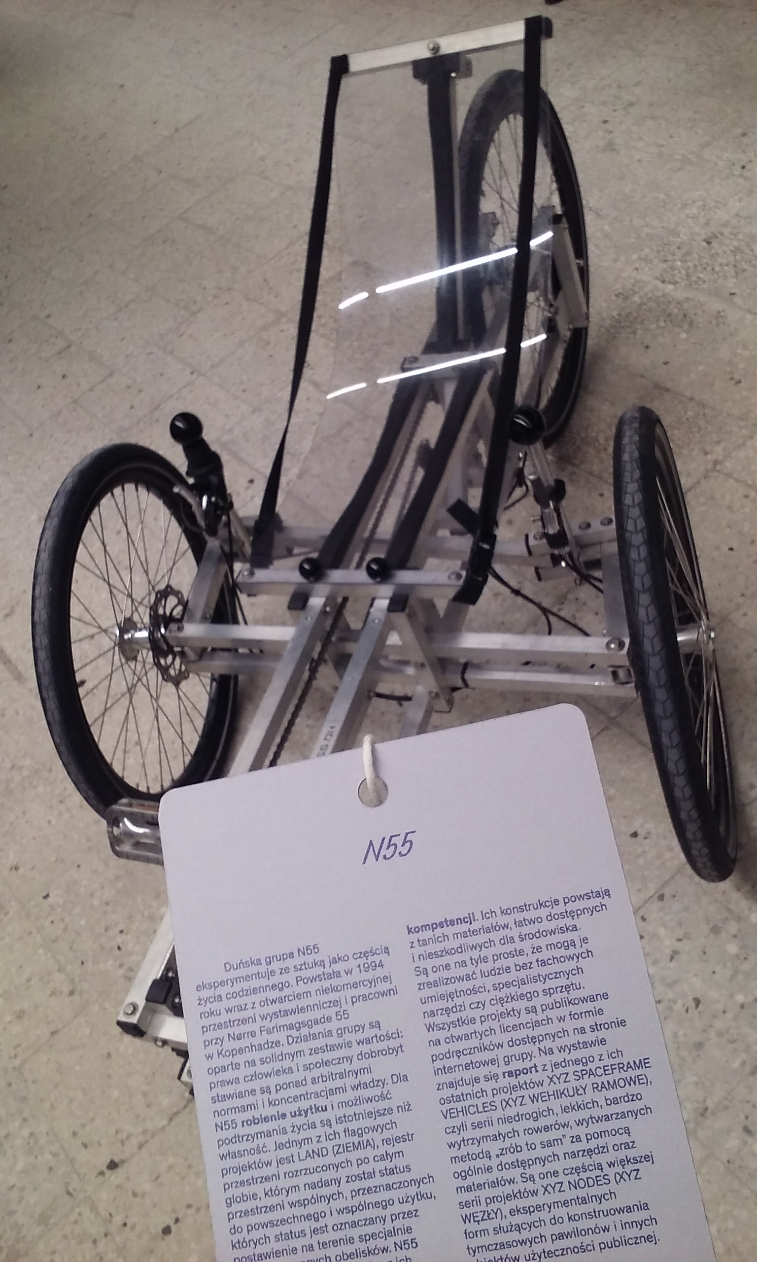 6 trójkołowy rower, N55