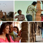 1. Qutab Minar 2. i 3.Kadry i z filmu  4. Kadry z naszej podróży.