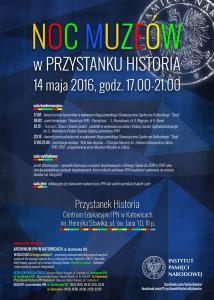 Plakat-Noc-Muzeow-IPN-Katowice