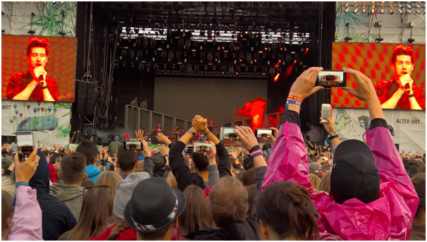 Koncert Bastille, Open'er Festival 2016, fot. Hanna Kostrzewska