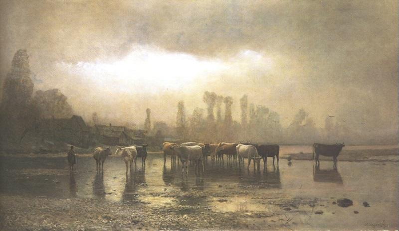 László_Mednyánszky_(1852-1919)_Watering