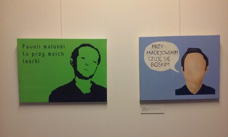Sztuka szuka IQ, Piotr Kmita, Cykl autoportrety