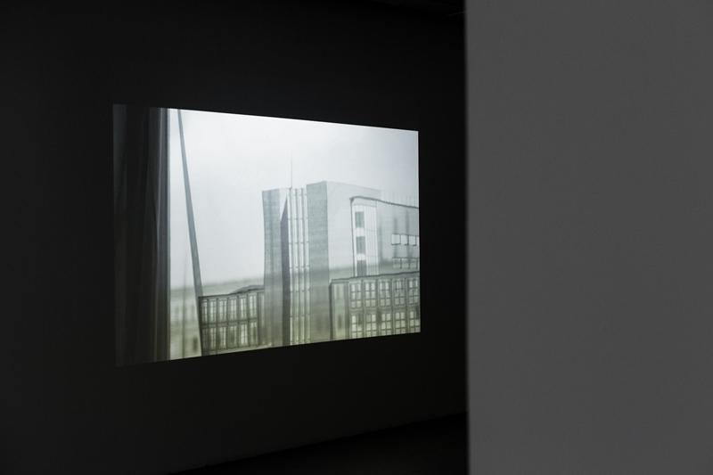 Widmo_fragment pracy Kariny Marusińskiej_Powidok, video, obiekt, 2016, fot. Barbara Kubska