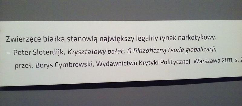 Wro Art Center, Peter Sloterdijk, Kryształowy pałac