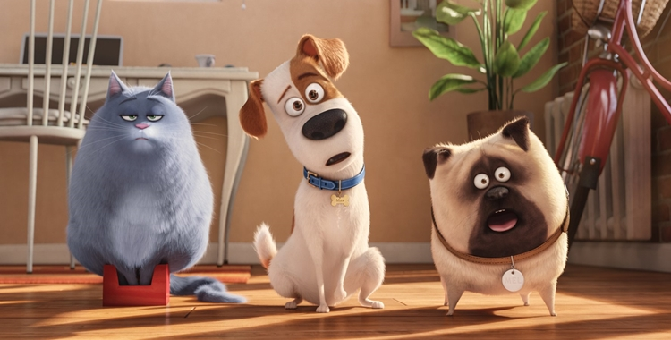 """Animacja """"animal studies"""" - recenzja """"Sekretnego życia zwierzaków domowych"""""""