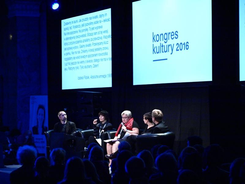 Kongres kultury 2016 fot. materiały organizatora