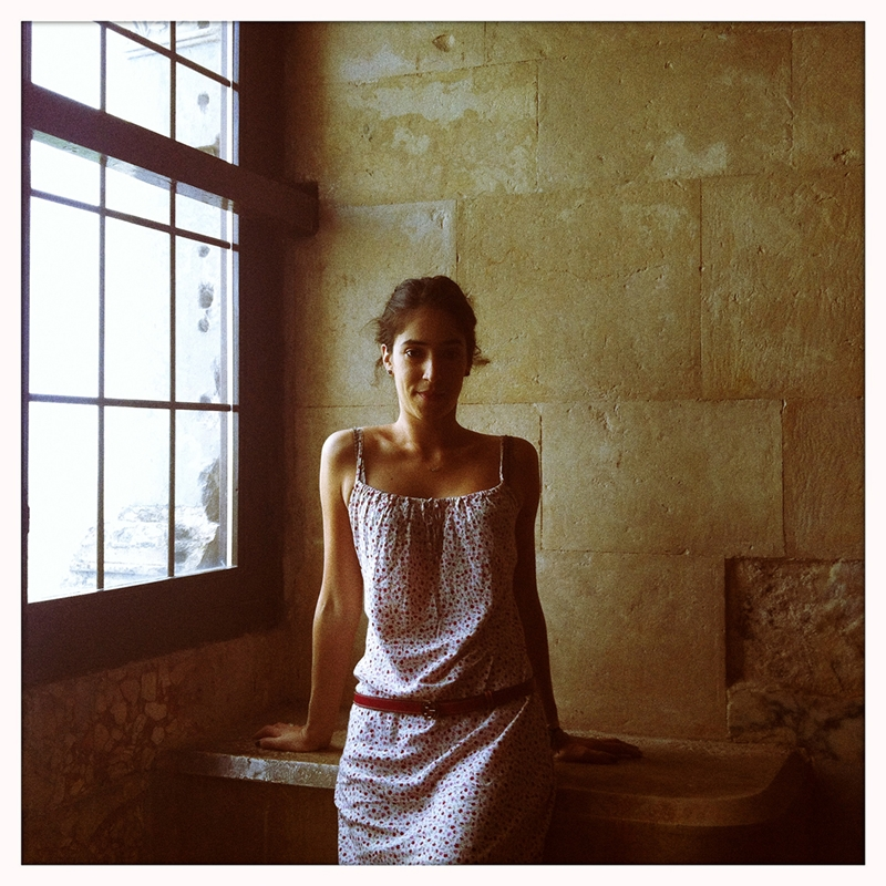 From the work PORTRAITS (Eleonora) - Castel del Monte, Italy (2012)