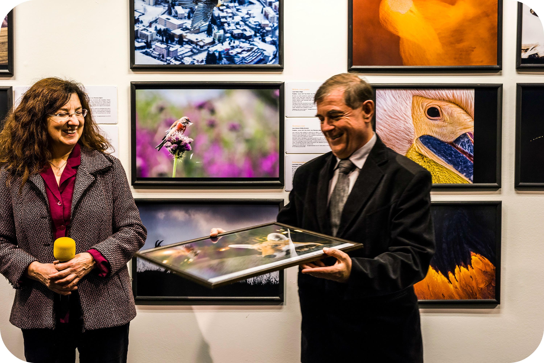 Wernisaż Fotografii Dzikiej Przyrody, Galeria Bielska BWA. Fot. K. Morcinek