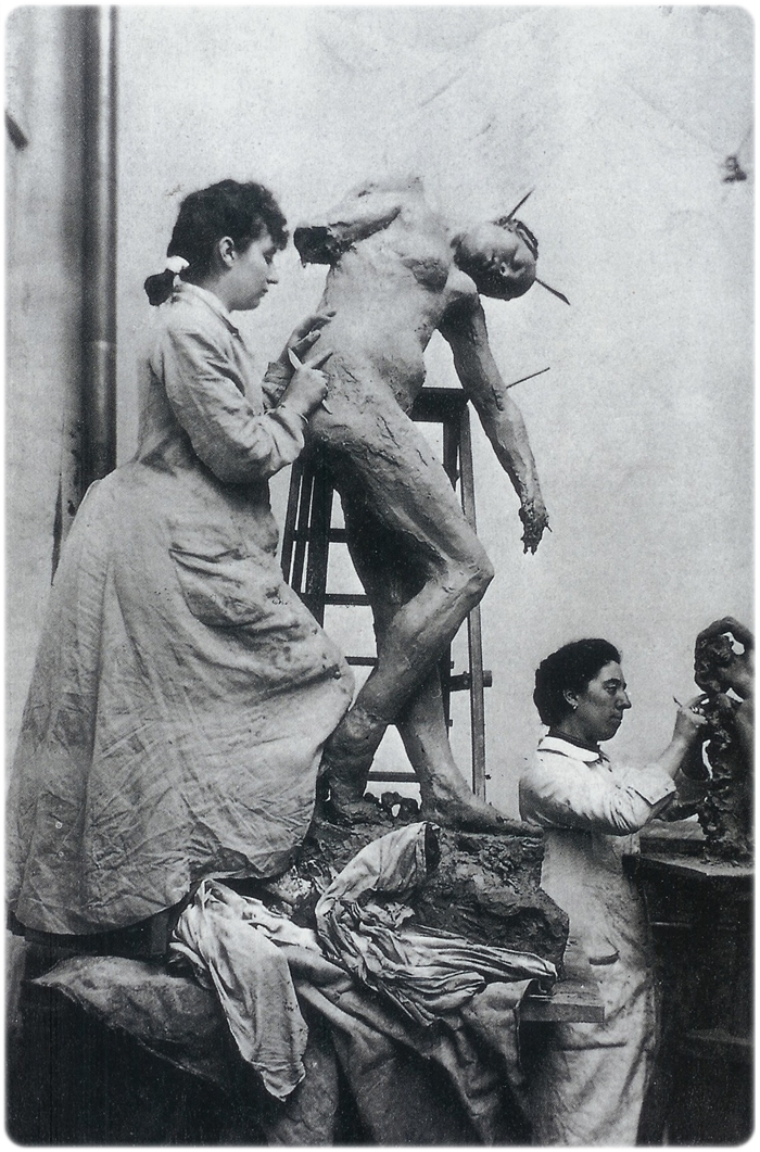 Camille_Claudel_atelier_wikimedia commons