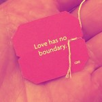 Love has no boundary cover