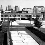 3.Budynek banków PKO, NBP i BS oraz PZU w Tychach, ok. 1974. Fot. z archiwum Ewy Dziekońskiej