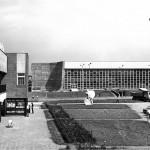 4.Hala sztucznego lodowiska w Tychach, ok. 1978. Fot. z archiwum Ewy Dziekońskiej