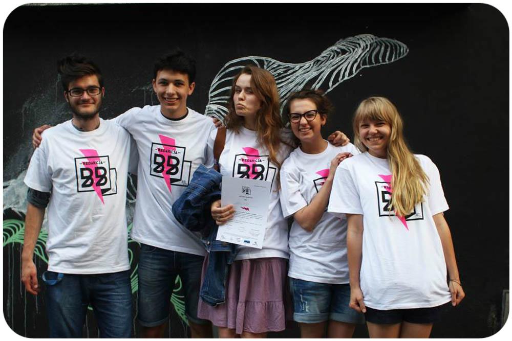 Fot. Alicja Jakimów - Uczestnicy i uczestniczki projektu redakcjaBB