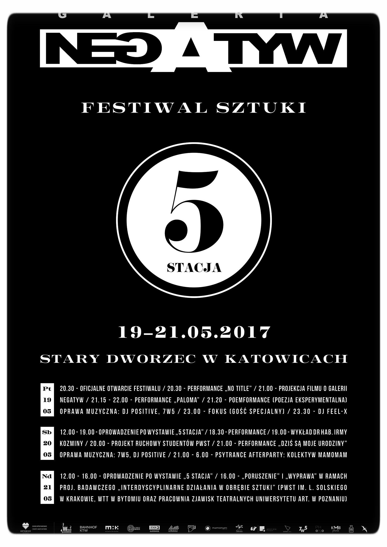 Program Festiwalu Sztuki 5 Stacja