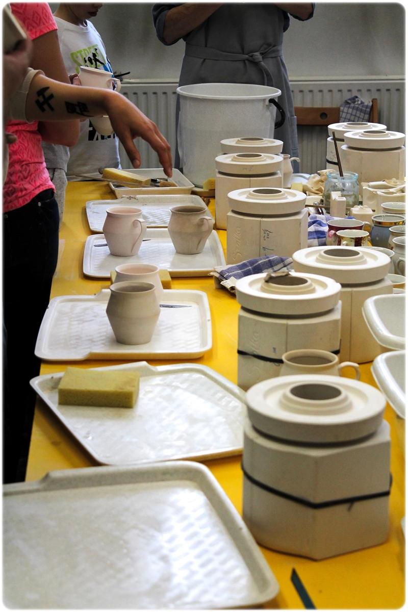 Nikiszowiec - warszaty ceramiczne z Bogdanem Kossakiem