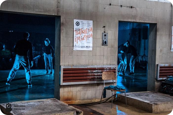 """""""Jaram się!"""" reż. Rafał Urbacki – spektakl taneczny prezentowany podczas konferencji prasowej Teatralnej Maszyny, fot. Elżbieta Gwóźdź"""