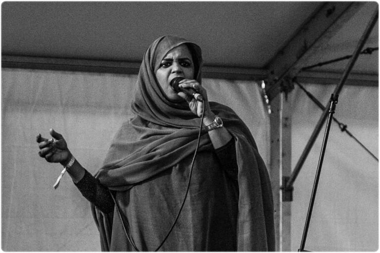 Noura Mint Seymali / Off Festival / fot. Natalia Kaniak