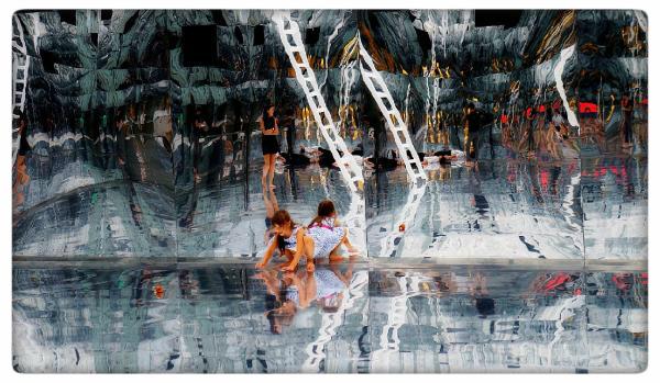 Po drugiej i trzeciej stronie lustra, fot. Agnieszka Jocz