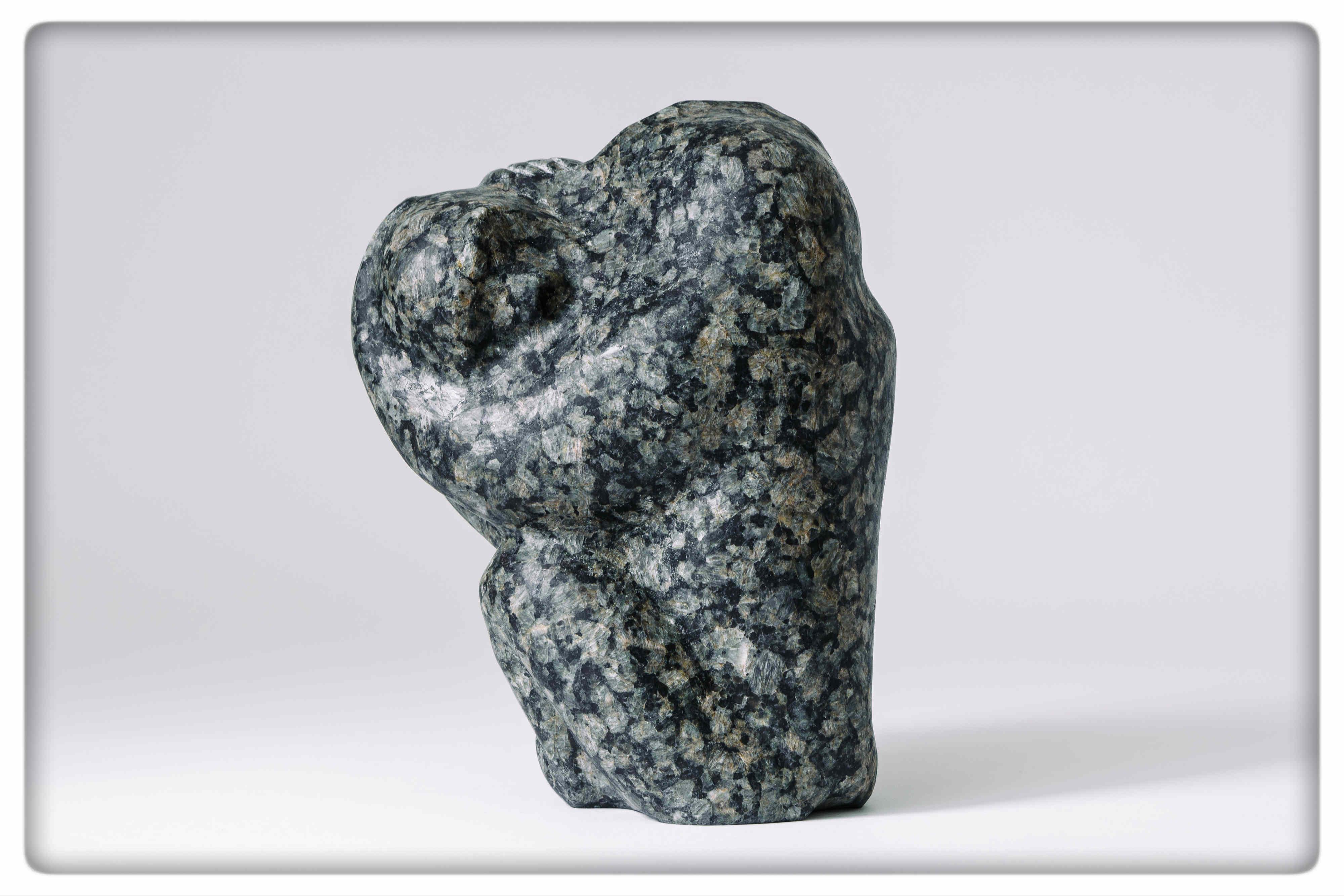 Beata Czapska, Baboons, 2014, granit szwedzki