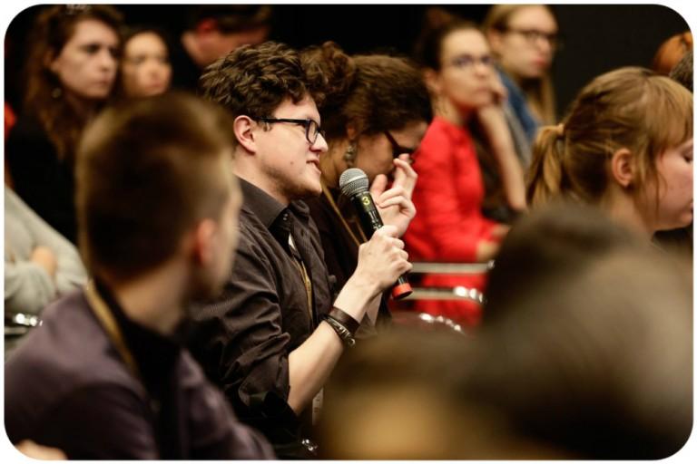 panel dyskusyjny: (Post)krytyka czy krytyka w postach?, fot. Paweł Mańka