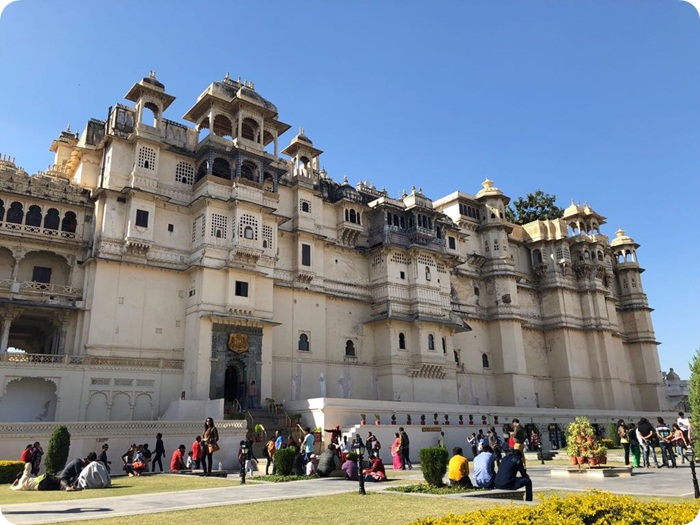 Udaipur. City Palace