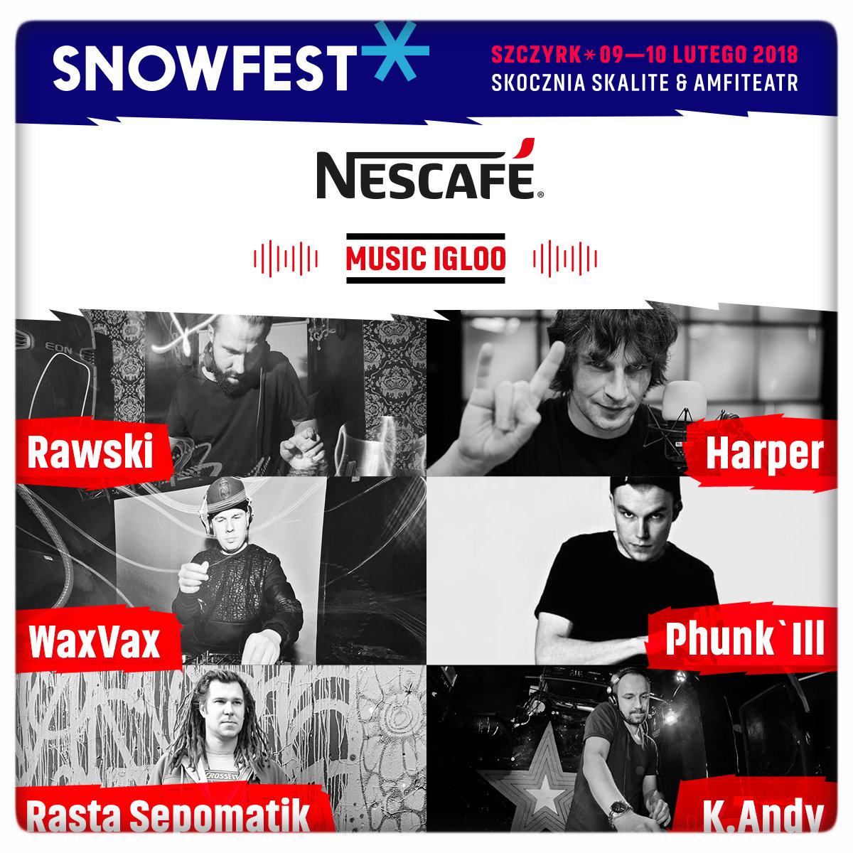 Rozkład jazdy w Nescafe Music Igloo