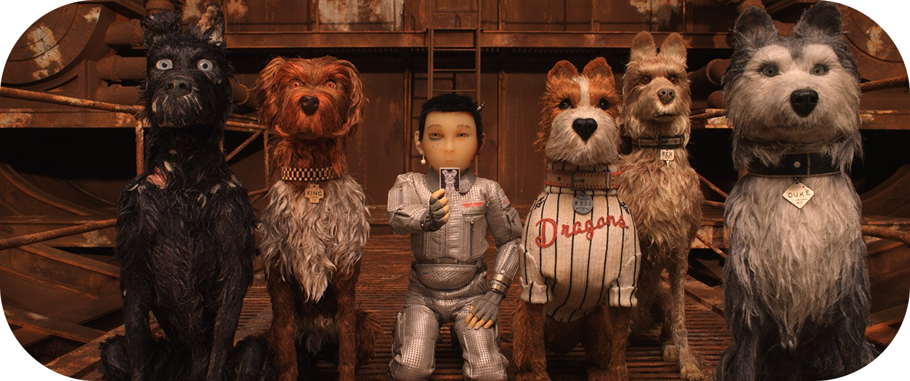 Isle of dogs (W. Anderson)