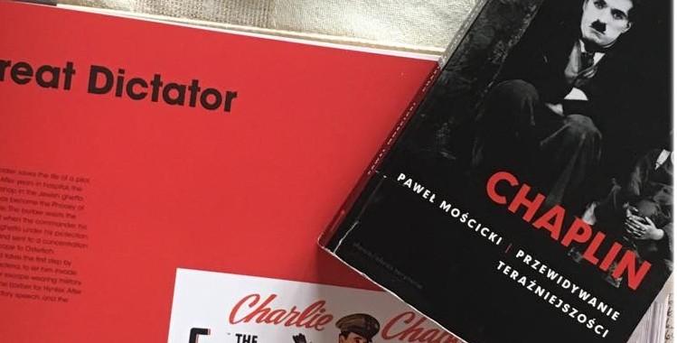 """Gorączka burleski - recenzja książki """"Chaplin. Przewidywanie teraźniejszości""""."""